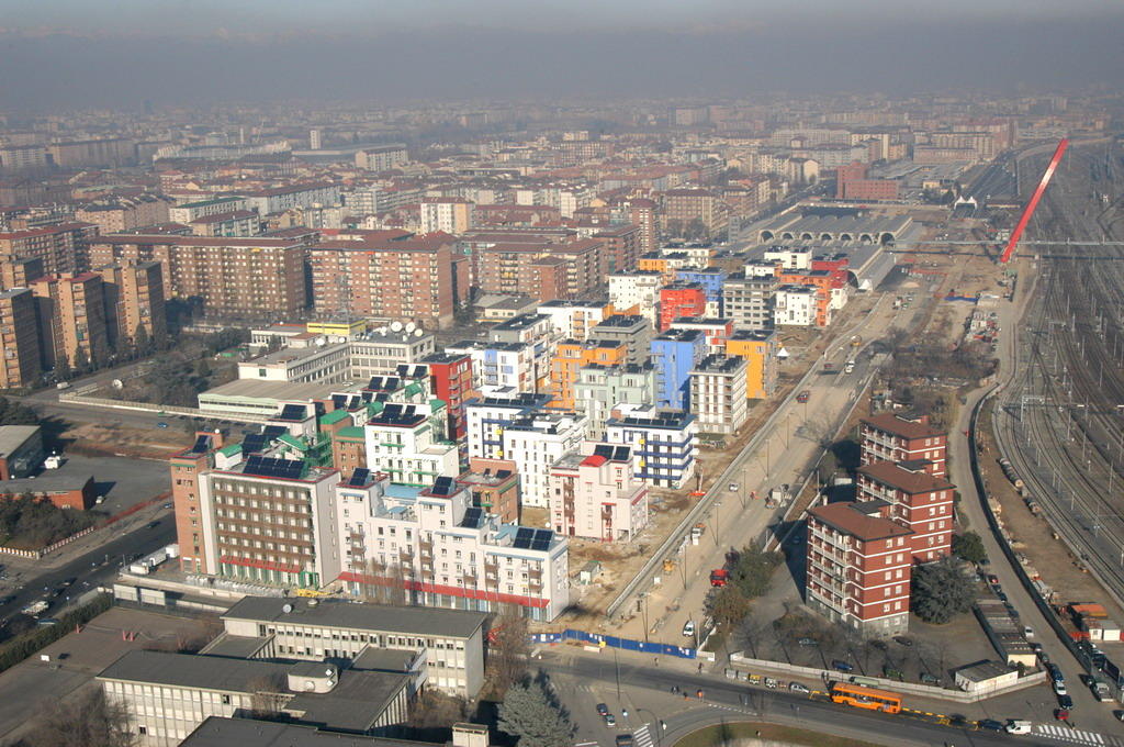 Il villaggio olimpico di torino 2006 skyscrapercity for Villaggio olimpico